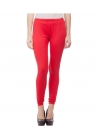 Smart Rabbit Red Cotton Leggings
