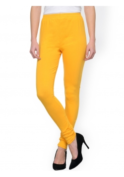 Smart Rabbit Yellow Cotton Leggings