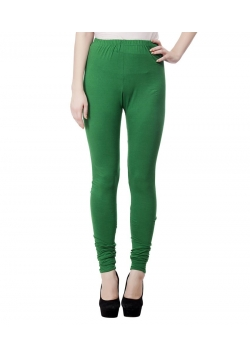Smart Rabbit Green Cotton Leggings