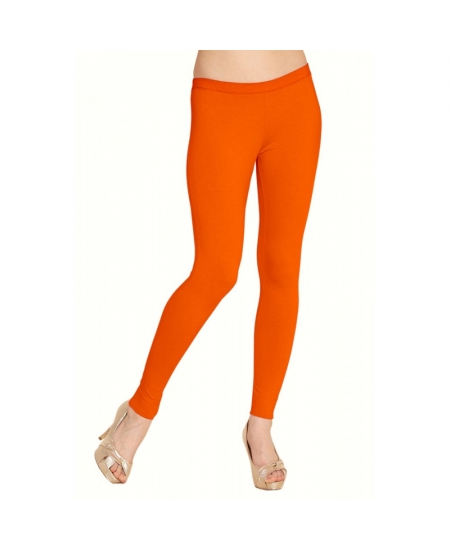 Smart Rabbit Orange Cotton Leggings